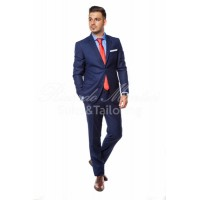 Costum barbati  business ultramarine