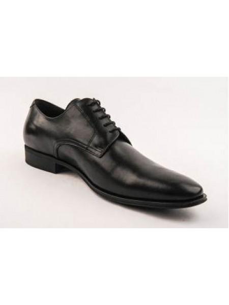 Pantofi negri business din piele