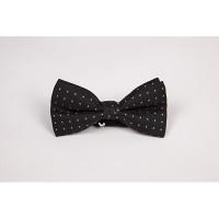 Papion negru cu model elegant