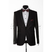 Costum Ceremonie Smoking Fara Clape Black