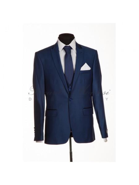 Costum Barbatesc Albastru Regal