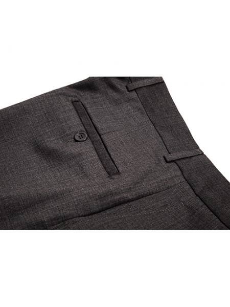 Pantaloni stofa business office gri petrol