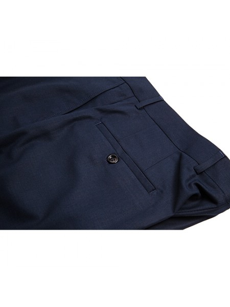 Pantaloni business office, bleumarin navy