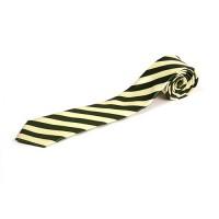 Cravata slim de matase cu insertii