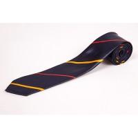Cravata slim bleumarin cu insertii