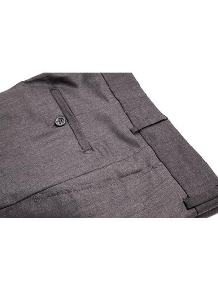 Pantaloni Stofa culoare gri business office